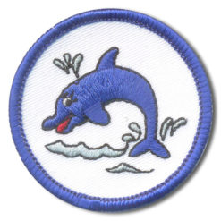 Schwimmabzeichen Delfin