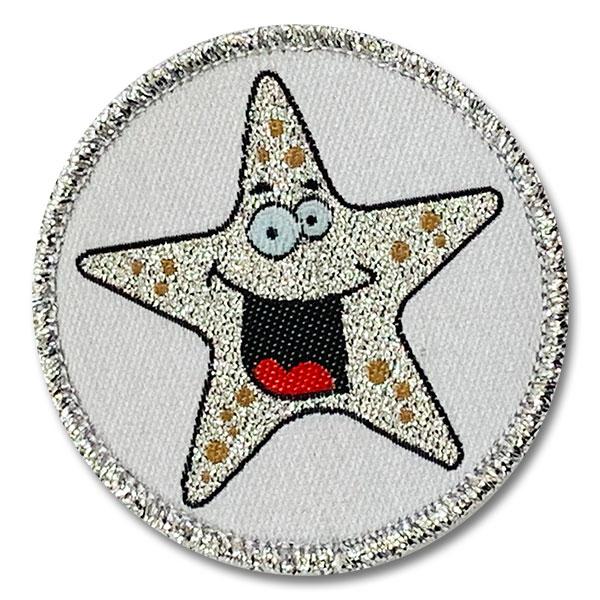 Schwimmabzeichen mit eigenem Motiv | Stern