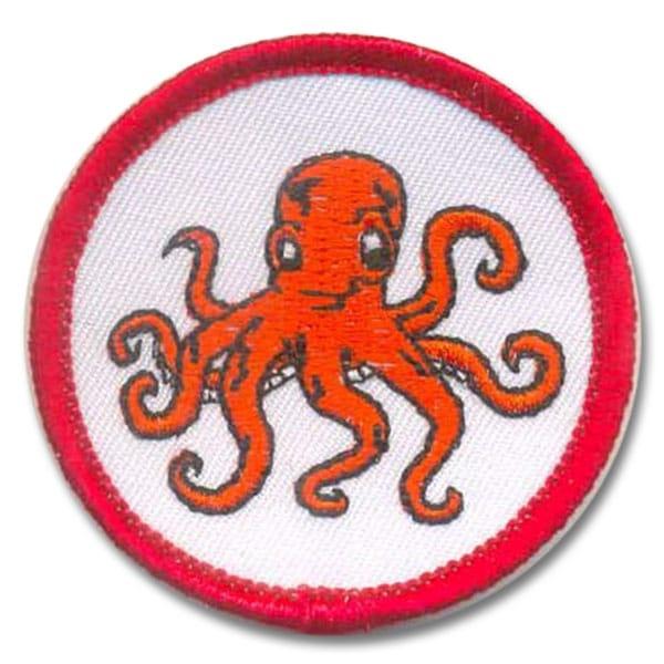 Schwimmabzeichen mit eigenem Motiv | Oktopus