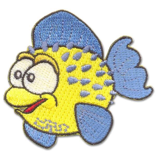 Schwimmabzeichen mit eigenem Motiv | Fisch