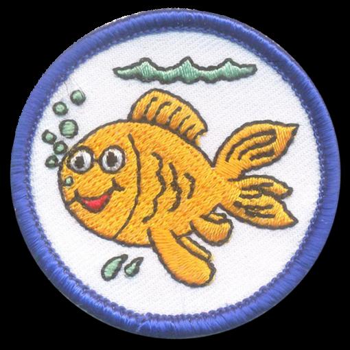 Schwimmabzeichen Golfisch