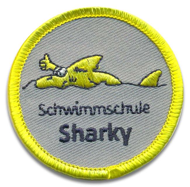 Schwimmabzeichen mit eigenem Motiv